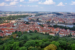 Free Aerial View Of Prague, Czech Republic Royalty Free Stock Photography - 49668667