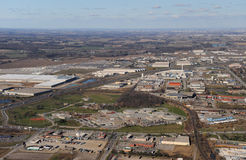 Aerial View Of Southern Ontario Royalty Free Stock Image