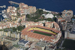 Free Aerial View Of Stade Louis II And Fontvieille Royalty Free Stock Image - 73626026