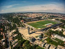 Free Aerial View Of Strahov Stadium In Prague Royalty Free Stock Photography - 159455417
