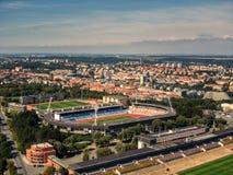Free Aerial View Of Strahov Stadium In Prague Royalty Free Stock Images - 159455419