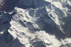 Free Aerial View Of The Alps Stock Photo - 14512690