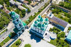 Free Aerial View Of The Astrakhan Kremlin, Historical And Architectural Complex. Russia, Astrakhan Stock Images - 148751884