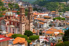 Aerial View Of The City Of Taxco, In Guerrero, Mexico. II Royalty Free Stock Photography