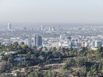 Free Aerial View Of The Westwood Cityscape Stock Photography - 109590112
