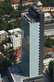 Aerial view of an Office Building Stock Image