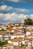 Aerial view of Ohrid Royalty Free Stock Photos