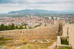 Aerial view of Ohrid Royalty Free Stock Photography