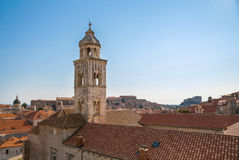 Aerial View on the Old City of Dubrovnik, Croatia Stock Images