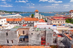 Aerial view of Old Havana Stock Images