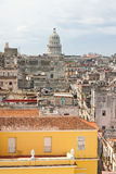 Aerial view of Old Havana Royalty Free Stock Photos