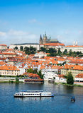 Aerial view of Old Prague Royalty Free Stock Photography