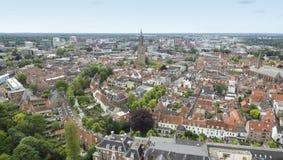 Aerial View On Amersfoort Royalty Free Stock Image