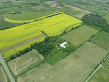 Aerial view of Ontario Stock Images