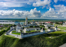 Aerial View Onto Tobolsk Kremlin In Summer Day Stock Photo