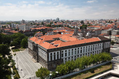 Aerial view of Oporto, Portugal Stock Image