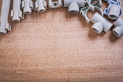 Aerial View On Organized Copyspace Big Set Stock Photography
