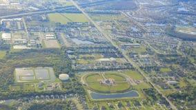 Aerial view of Orlando Stock Photo