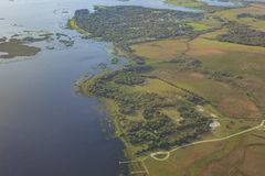 Aerial view of Orlando Stock Photos