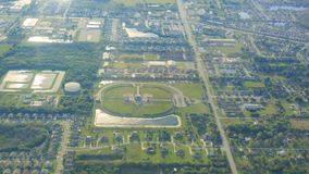 Aerial view of Orlando Royalty Free Stock Images