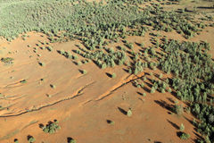 Aerial View. Outback Stock Images