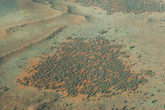 Aerial view Outback Australia Stock Images