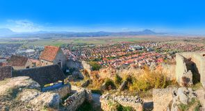Rasnov cityscape Royalty Free Stock Photo
