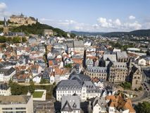 Old town of Marburg, Germany Royalty Free Stock Photo