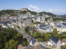 Old town of Marburg, Germany Stock Image