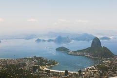 Aerial view over Rio de Janeiro Stock Photo