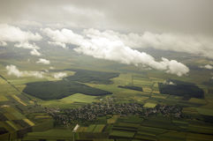 Aerial view. stock image