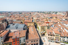 Aerial view over Verona Royalty Free Stock Photography