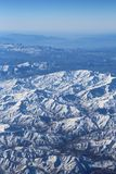 Aerial view over Zagros Mountains, Iran Stock Photos
