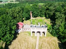 Aerial view of Pac`s palace royalty free stock images
