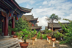 Aerial view of palace in lijiang, china Stock Photography