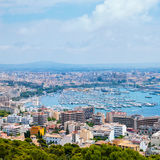 Aerial view of Palma de Majorca in Spain Stock Photo