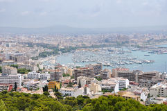 Aerial view of Palma de Mallorca Stock Image