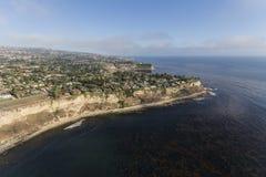 Palos Verdes Estates California Coast Aerial Royalty Free Stock Photography