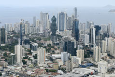 Aerial view of Panama City, Panama Royalty Free Stock Photo