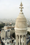 Aerial view of Paris. Aerial view of Paris from the Sacre-Coeur Basilica in Montmartre Stock Photography