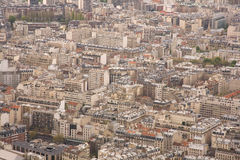 Aerial View of Paris Stock Images