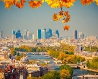 Aerial view of Paris Royalty Free Stock Photo