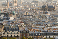 Aerial view on Paris. France Royalty Free Stock Photography