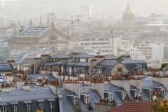 Aerial view on Paris. France Royalty Free Stock Image