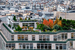 Aerial view of Paris, France Stock Images