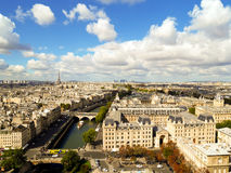 Aerial view Paris, France Royalty Free Stock Photography