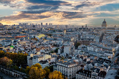 Aerial view of Paris, France Stock Photography