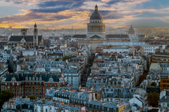 Aerial view of Paris, France Royalty Free Stock Photos