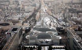 Aerial View of Paris Royalty Free Stock Photos