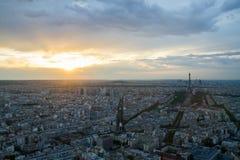Aerial view Paris Royalty Free Stock Image